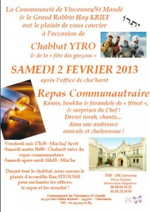 ACIP Vincennes YTRO 5773 Repas communautaire 20130202.