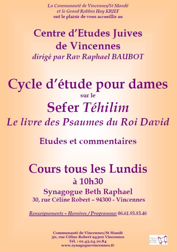 Cycle d'etude pour dames